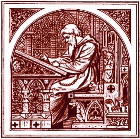 imagen de escritura antigua