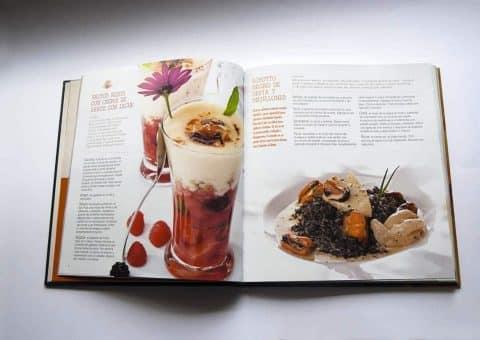 Diseño Editorial, Bruno Oteiza, página dos recetas