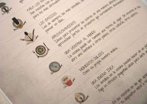 Diseño Editorial, Bruno Oteiza, página leyenda