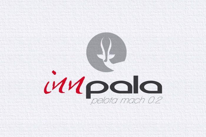 Diseño Logotipo Innpala, imagen corporativa, Imagen completa