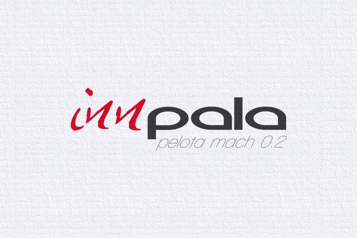Diseño Logotipo Innpala, imagen corporativa, Tipografía y anagrama