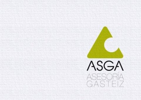 Logotipo Asga, imagen corporativa
