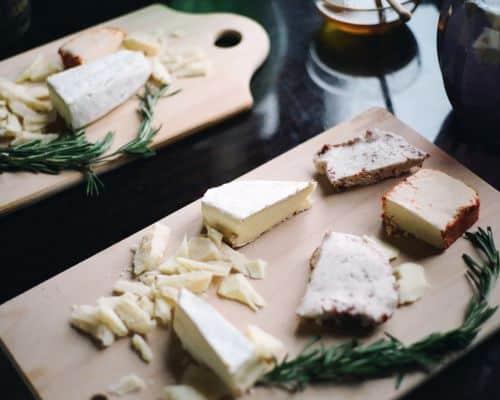 Fotografía de quesos