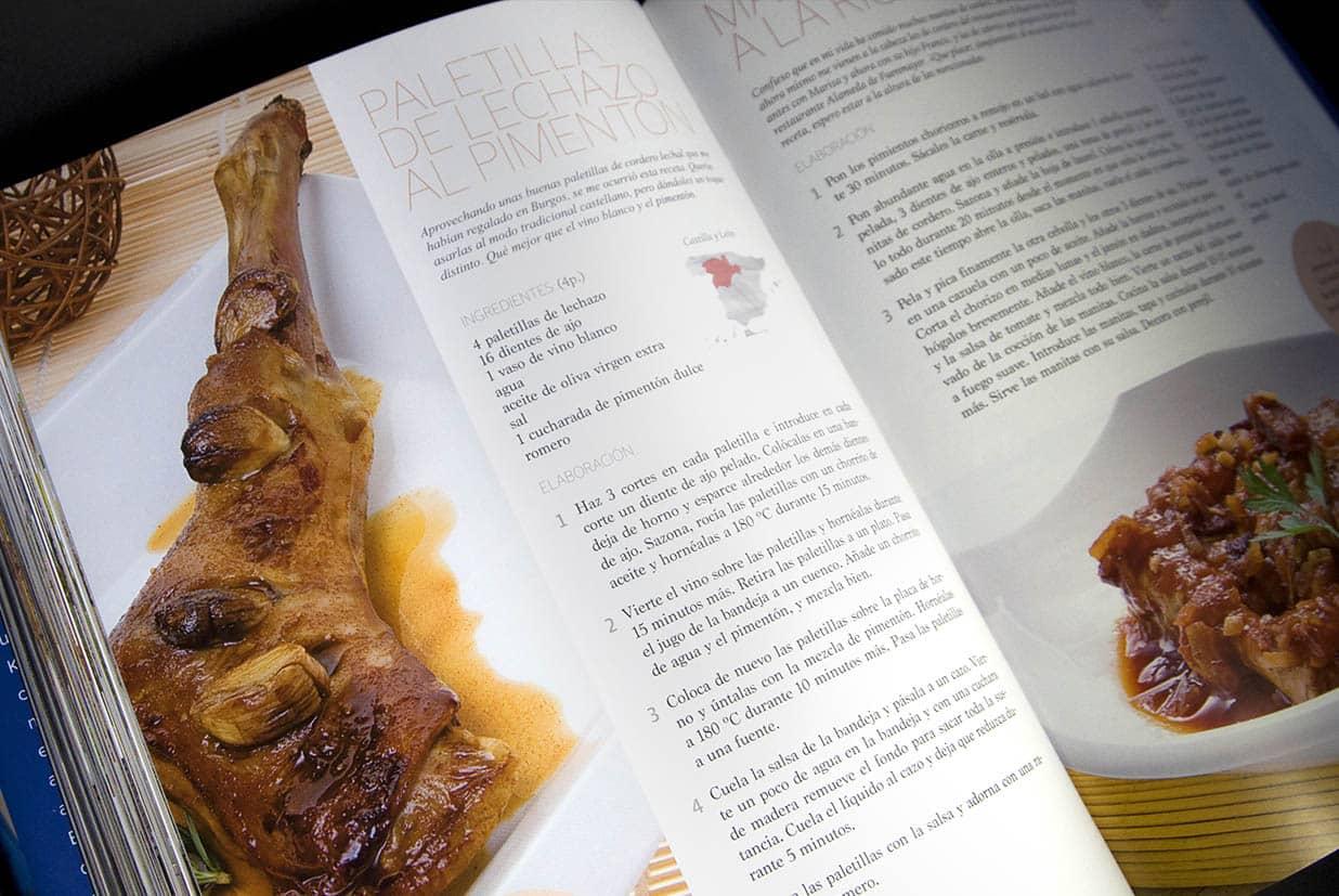 A mi manera, Karlos Arguiñano, diseño editorial pagina 7