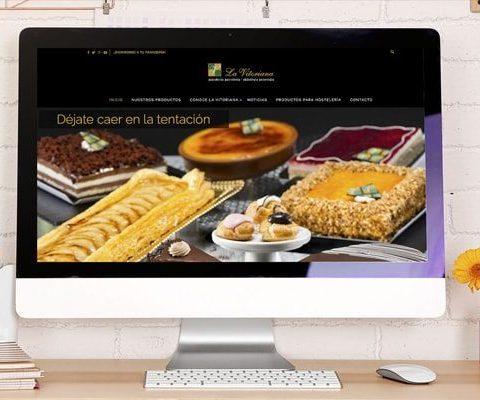 web Corporativa - Página implementada para La Vitoriana Gasteiz - Burman agencia de Comunicación y Marketing