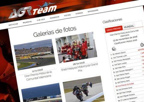 Diseño web, AGR team, Galerías de fotos