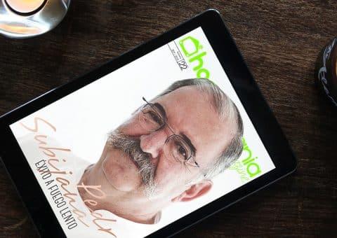 Revista digital Hogarmanía Magazine con Pedro Subijana de portada, creada por Burman comunicación