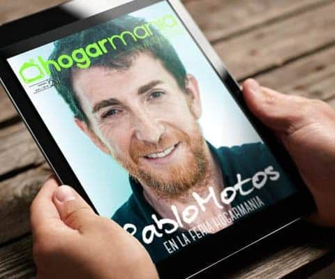 Revista digital Hogarmanía Magazine con Pablo Motos de portada, creada por Burman comunicación