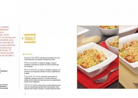 Diseño Gráfico y editorial del Libro Las recetas de Isma Prados 05