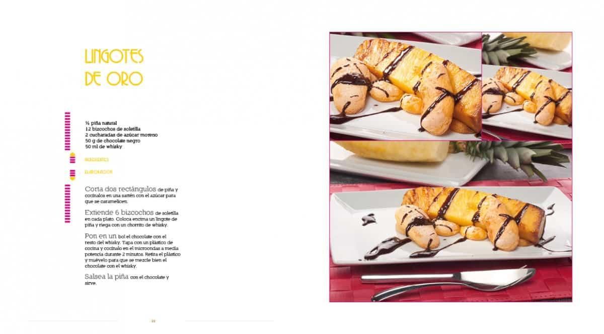 Diseño Gráfico y editorial del Libro Las recetas de Isma Prados