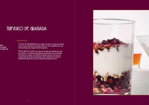 Diseño Gráfico y editorial del Libro Las recetas de Isma Prados 01