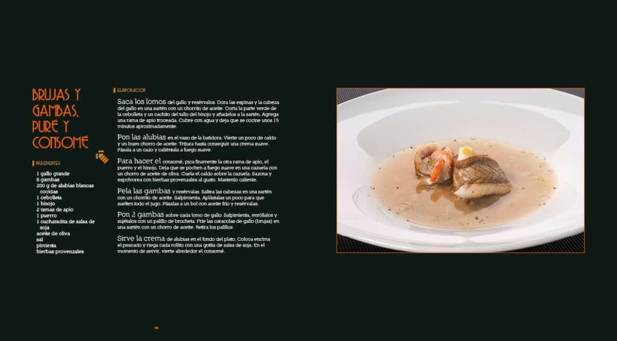 Diseño Gráfico y editorial del Libro Las recetas de Isma Prados 06