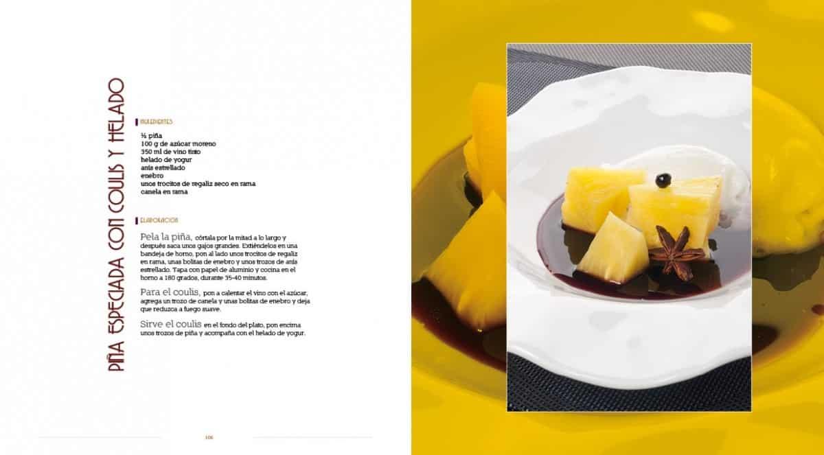 Diseño Gráfico y editorial del Libro Las recetas de Isma Prados 08