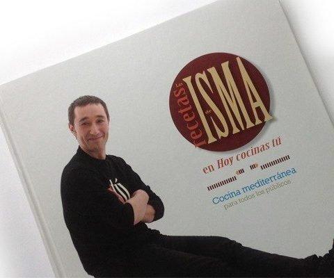 Diseño Gráfico y editorial del Libro Las recetas de Isma Prados Portada