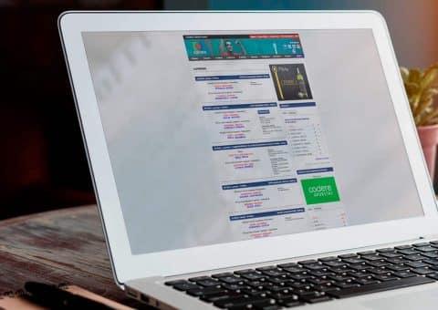 Diseño web de la página Sweifcoop detalle entradas.