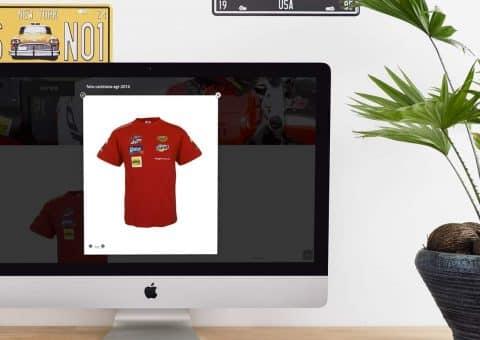 Tienda on-line de la página AGR SHOP detalle ampliación producto.