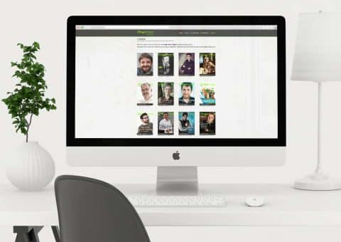 Diseño web de la página Hogarmania detalle librería.