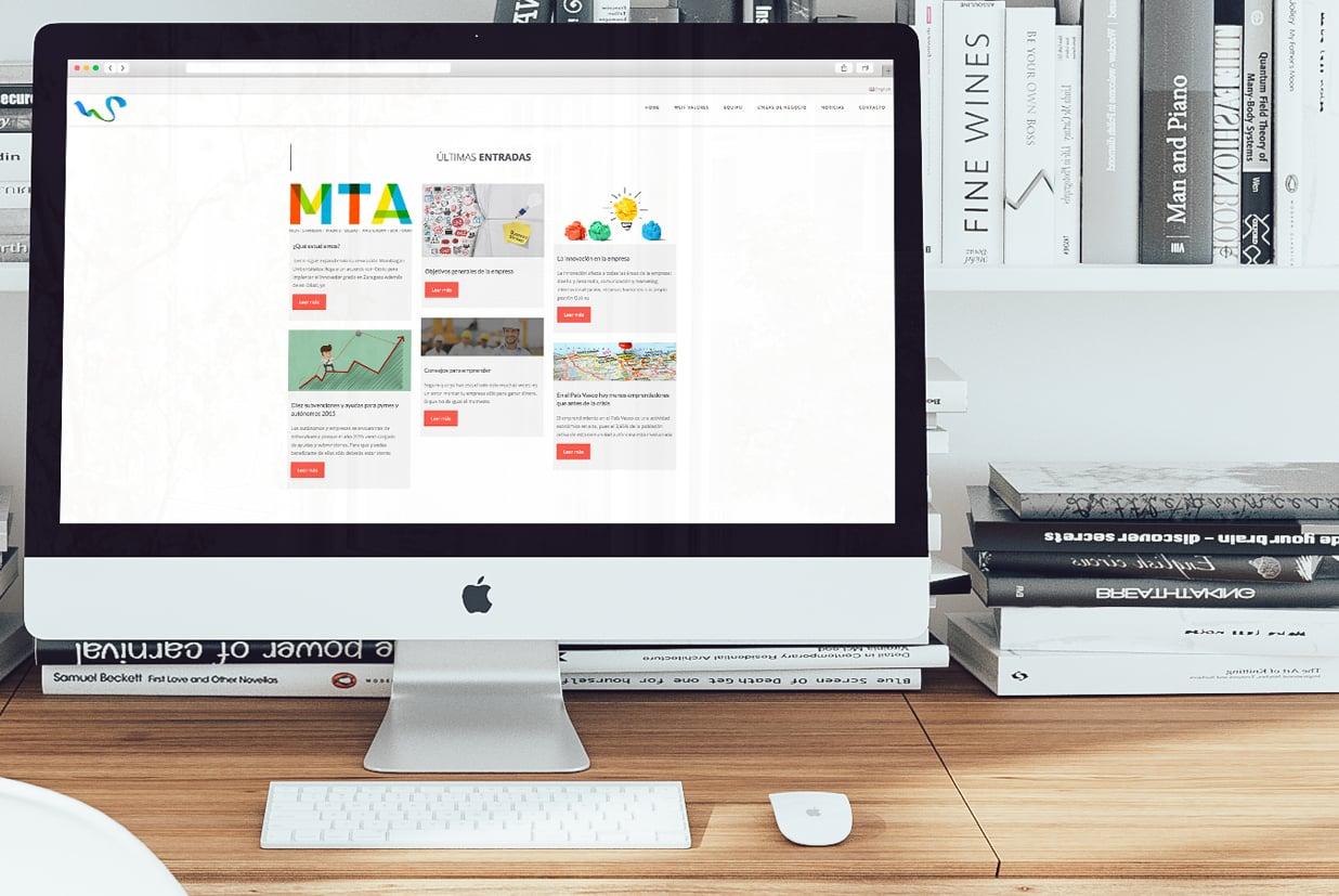 Diseño web de la página Sweifcoop detalle noticias