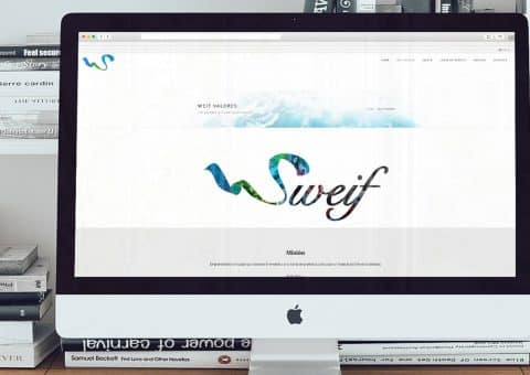 Diseño web de la página Sweifcoop detalle logo.