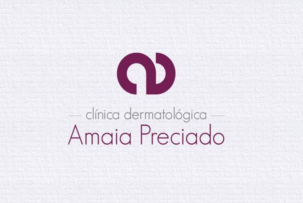 Diseño Gráfico Amaia Preciado Logo Completo