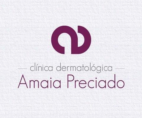 Imagen Corporativa Amaia Preciado Logo Completo