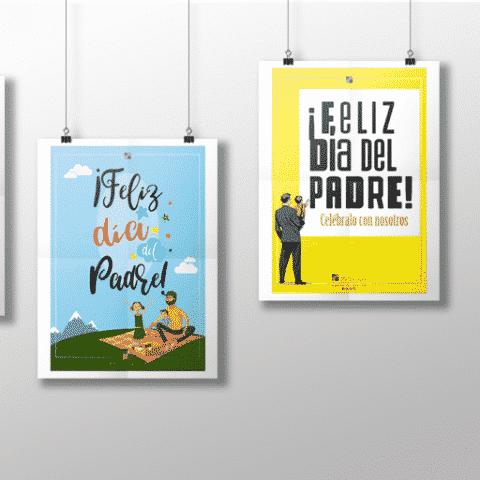 La Vitoriana cartel sobre el Día del Padre