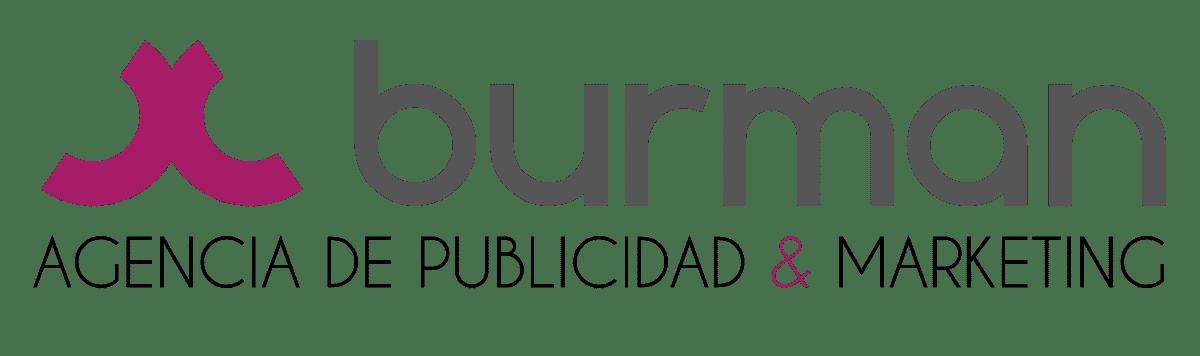 Logo Burman Comunicación Agencia de Publicidad, Marketing, Diseño Gráfico y Diseño Web