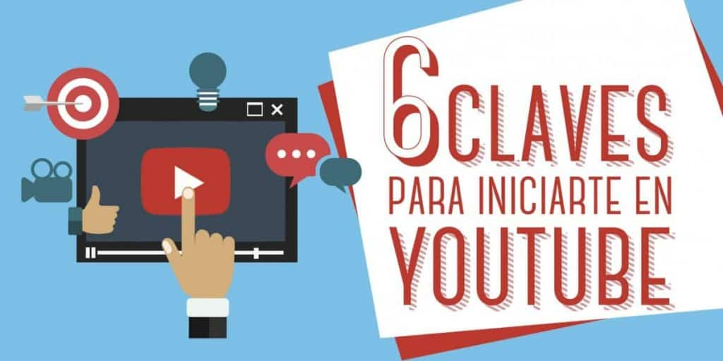 Redes Sociales claves para iniciarte en YouTube