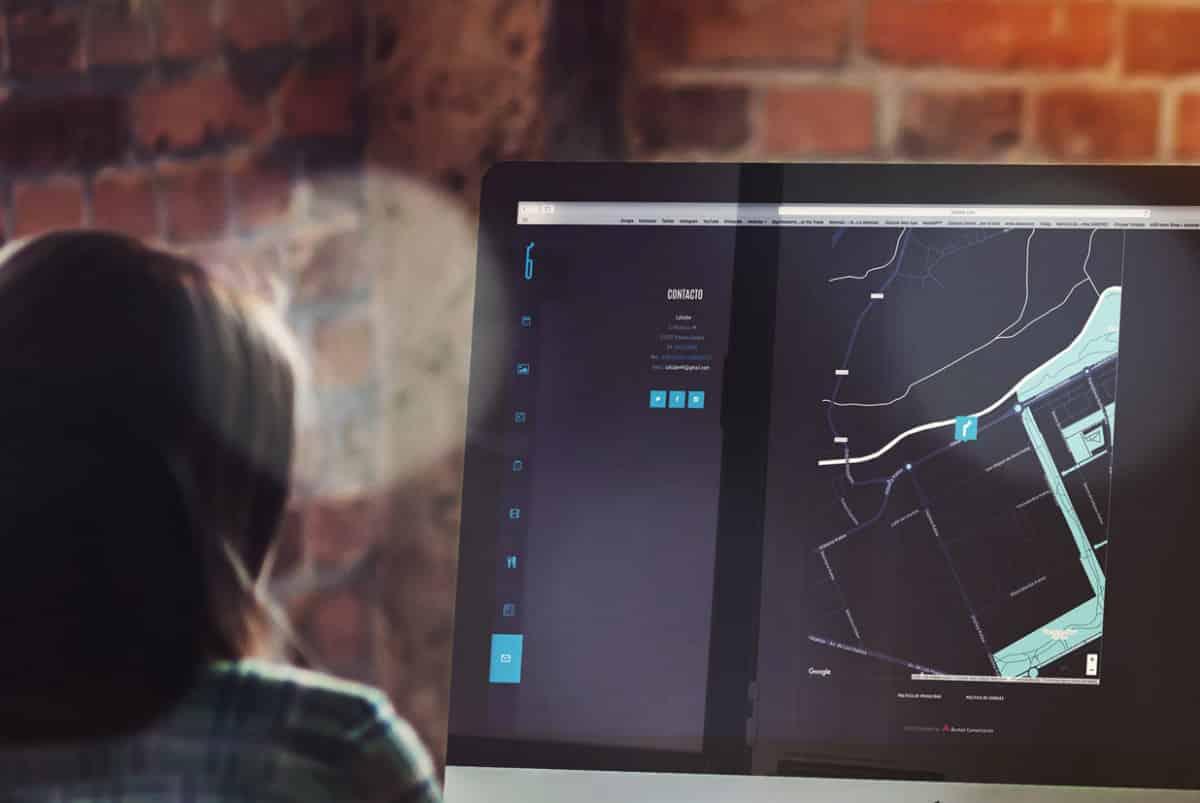 Diseño web de laklabe locales de ensayo contacto