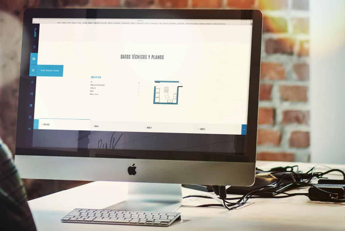 Diseño web de laklabe locales de ensayo planos
