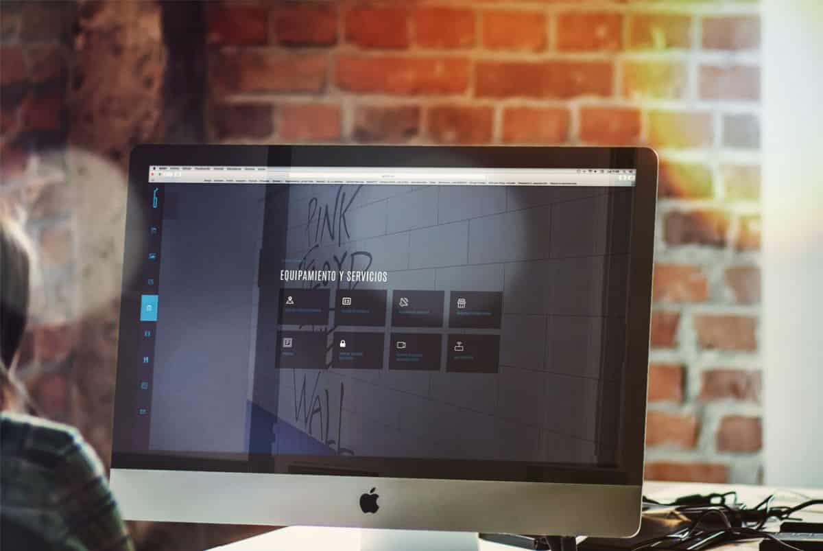 Diseño web de laklabe locales de ensayo servicios