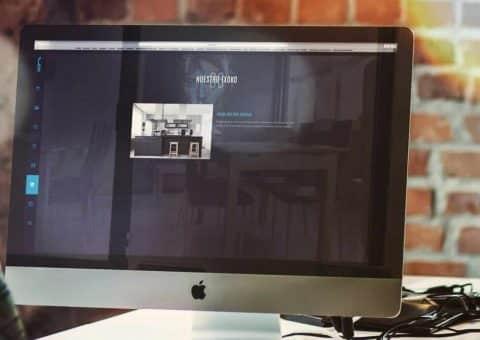 Diseño web de laklabe locales de ensayo txoko