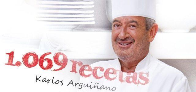 Libro 1069 recetas de Karlos Arguiñano