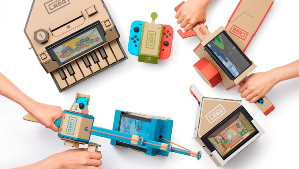 packaging Nintendo Labo
