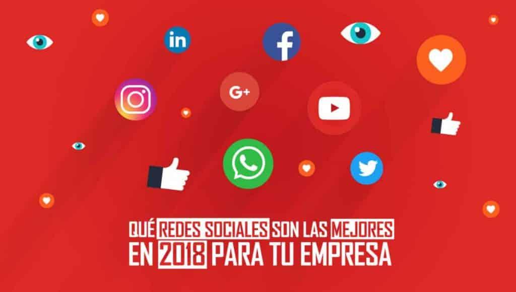 que-redes-sociales-mejores-empresa-2018