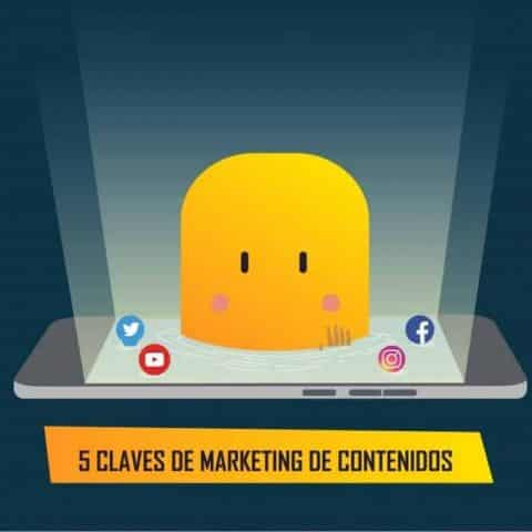 5 claves de marketing de contenidos