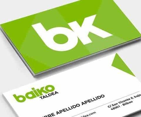 Diseño de marca Baiko Taldea Logo